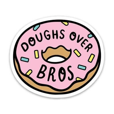 Doughs over Bros Stickers