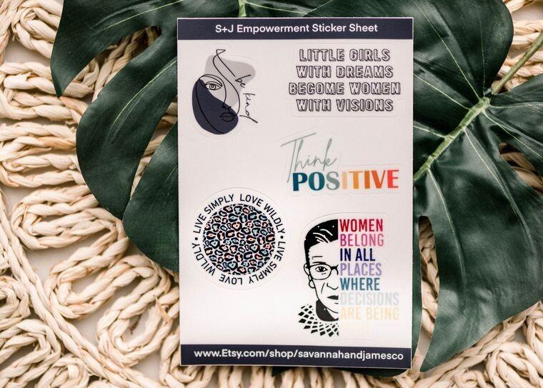 Empowerment Sticker Sheet