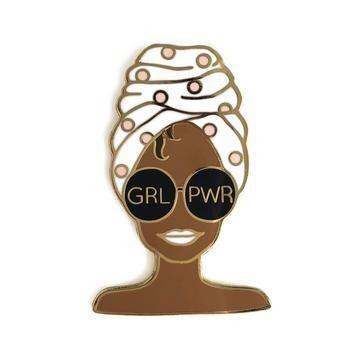 Girl Power Enamel Pin