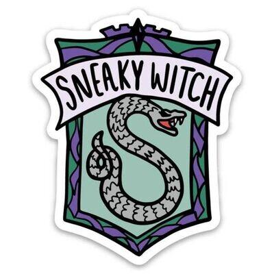 Harry Potter Slytherin Sneaky Witch Sticker