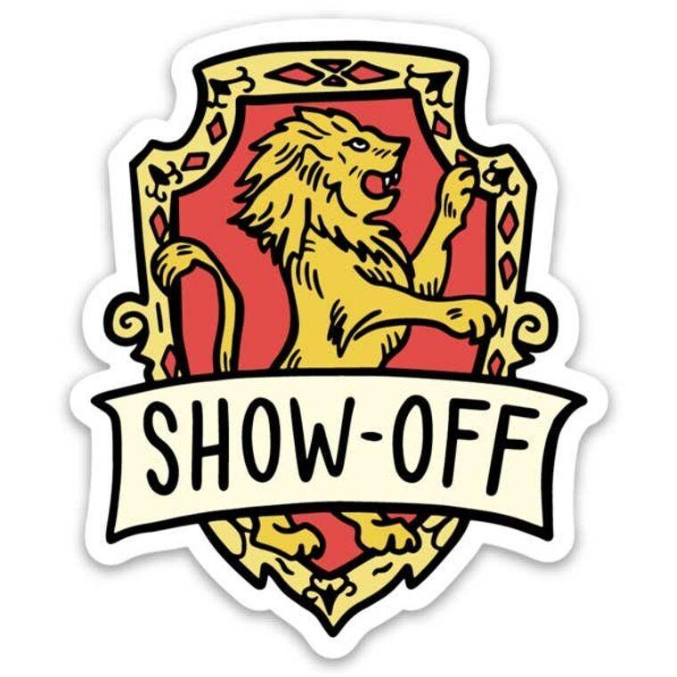 Harry Potter Gryffindor Show Off Sticker