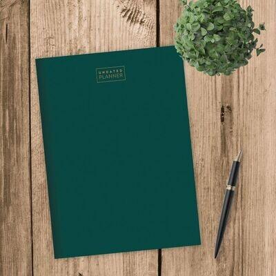 Green Undated Monthly Planner