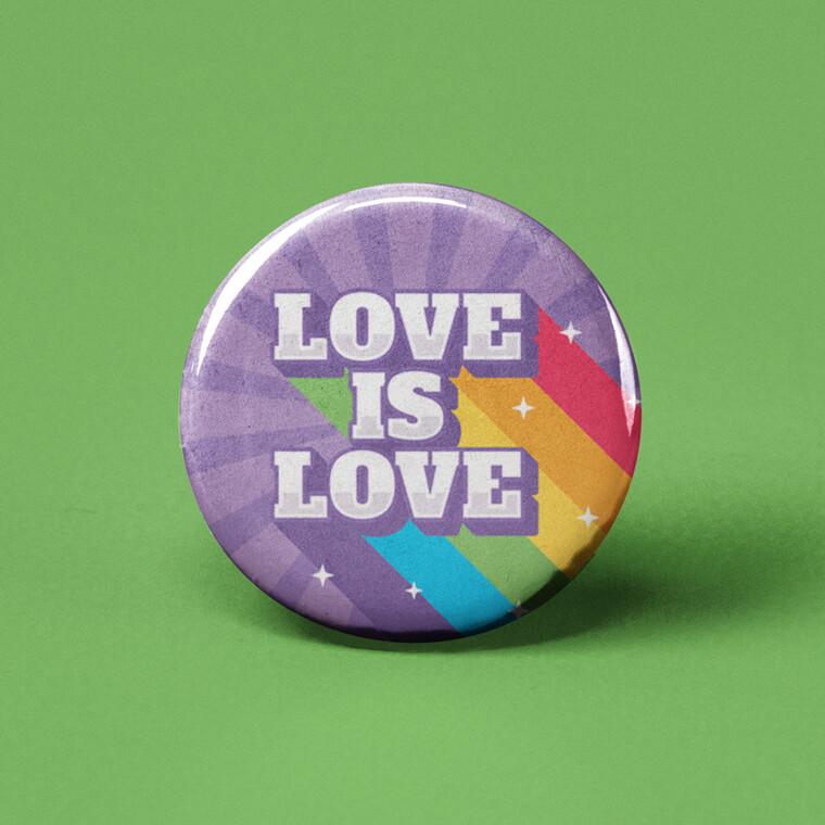 Love is Love Button