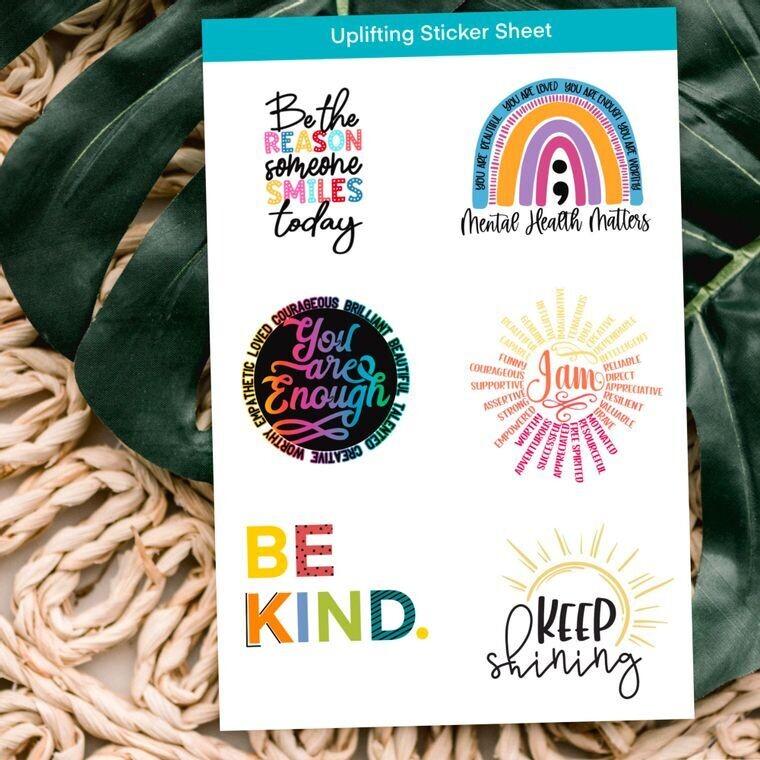 Uplifting Sticker Sheet