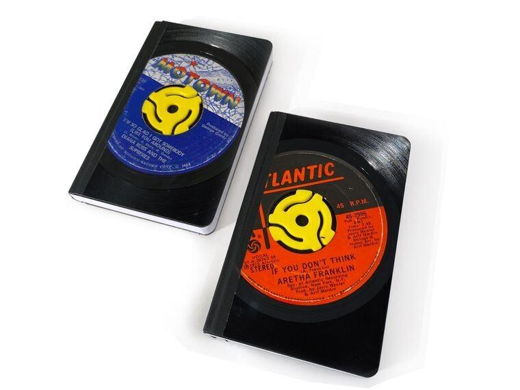 Vinyl 45RPM Record Pocket Journal-Soul