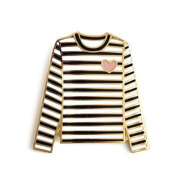 Tshirt Enamel Pin