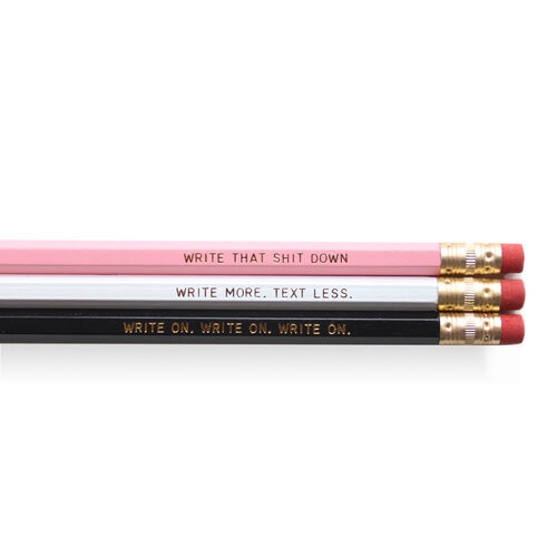 Write On Pencil Set (6)