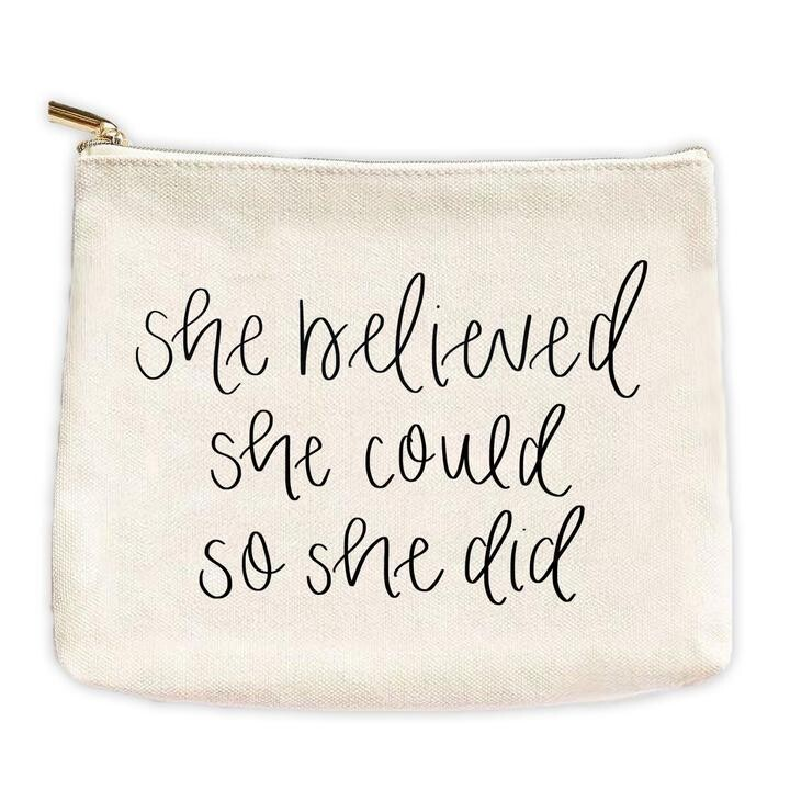 She Believed Bag