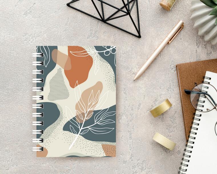 Natural Flower Spiral Journal