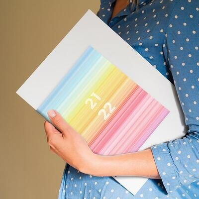 Pastel Ombre Monthly Planner
