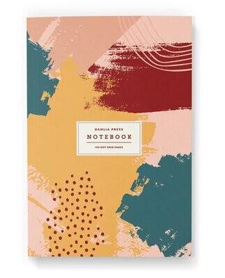 Abstract Splash Notebook