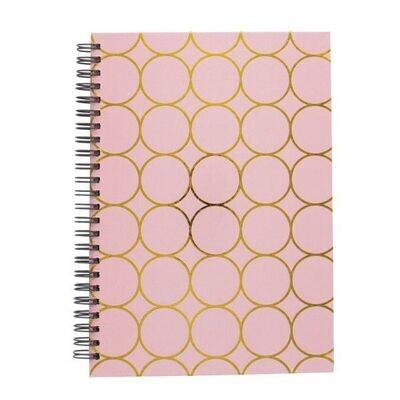 Pink Circle Journal