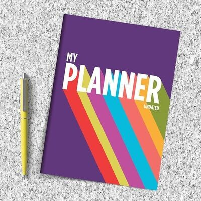 Rainbow Non Dated Planner