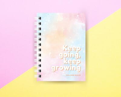 Keep Going Spiral Journal Small