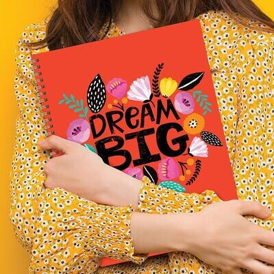Dream Big Weekly/Monthly Planner w/ Stickers