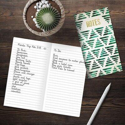 Green Trees Pocket Notebook