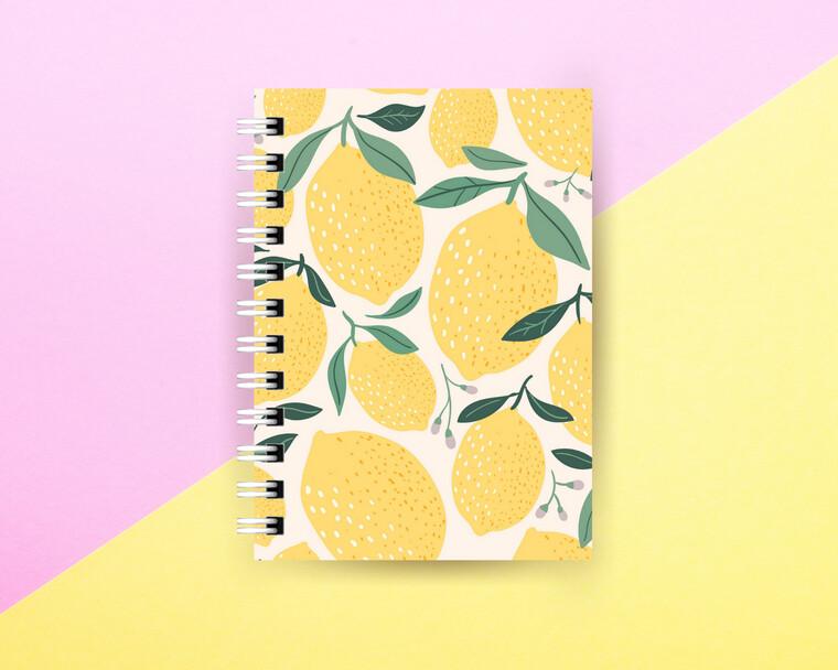 Lemonade Spiral Journal