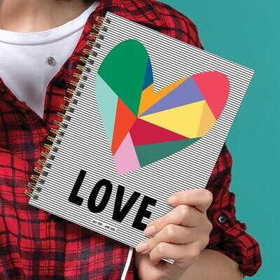 Love Weekly/Monthly Spiral Planner