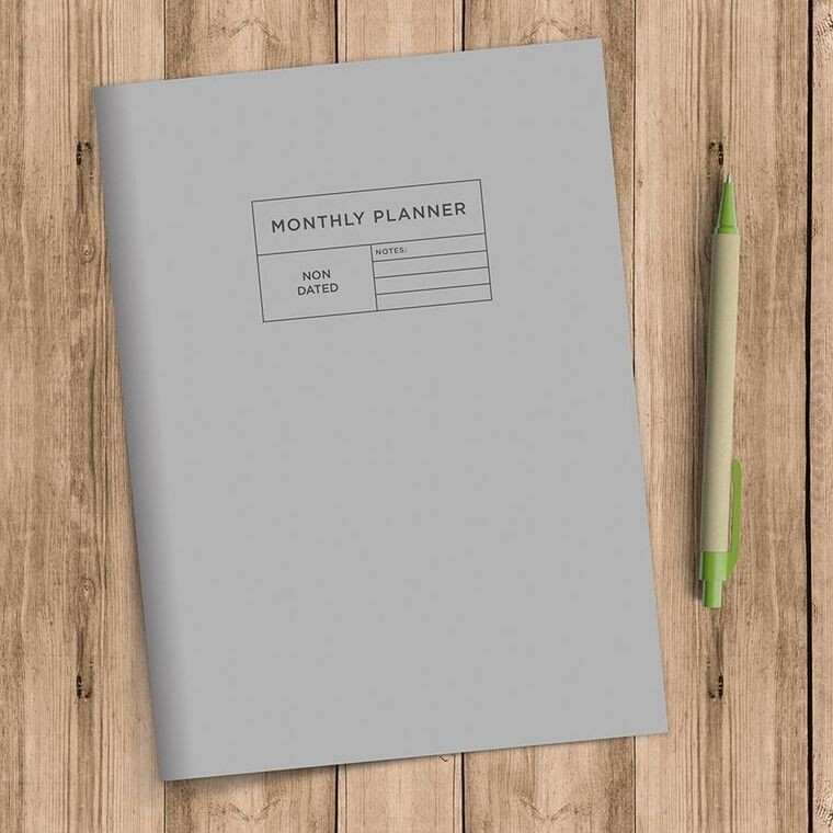 Minimal Non Dated Planner