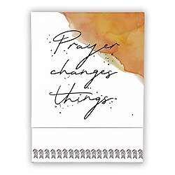 Prayer Changes Things Pocket Notepad