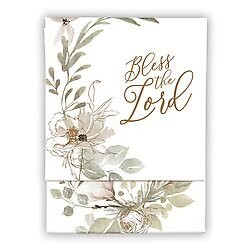 Bless The Lord Pocket Notepad