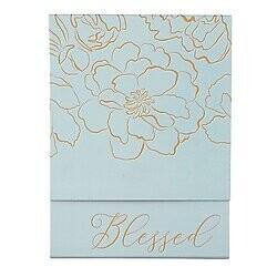Blessed Pocket Notepad- Floral