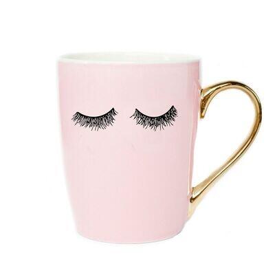 Pink Lashes Mug