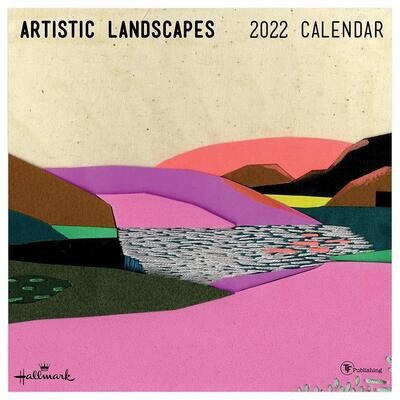 Artistic Landscape Wall Calendar