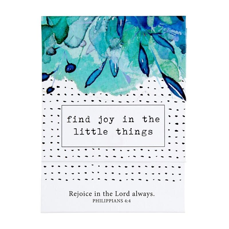 Find Joy in the Little Things Pocket Notepad