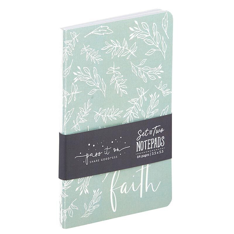 Notepad Set: Faith Can Move Mountains