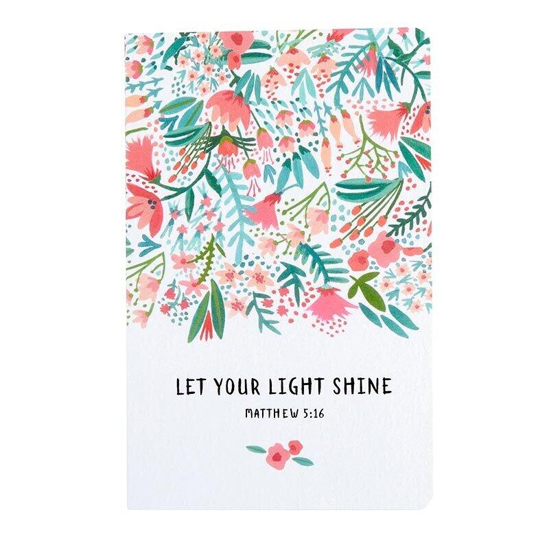 Notepad Set: Let Your Light Shine