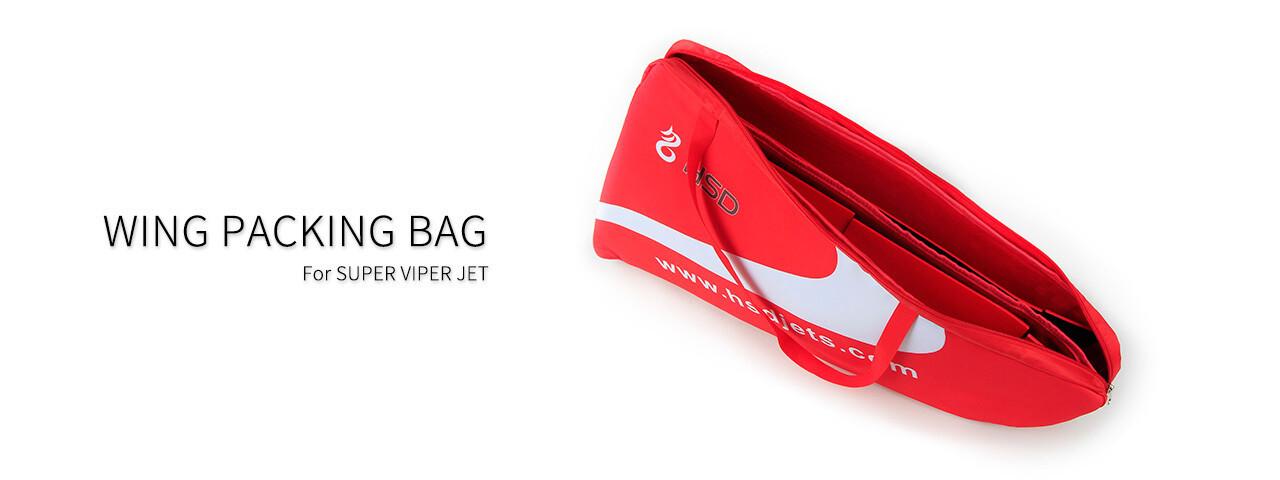 Flügeltasche rot Viper