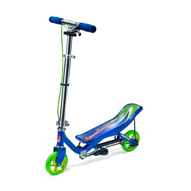 SpaceScooter Junior blau