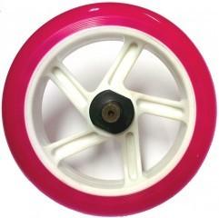 Ersatz Hinterrad mit Achse X380 Junior pink