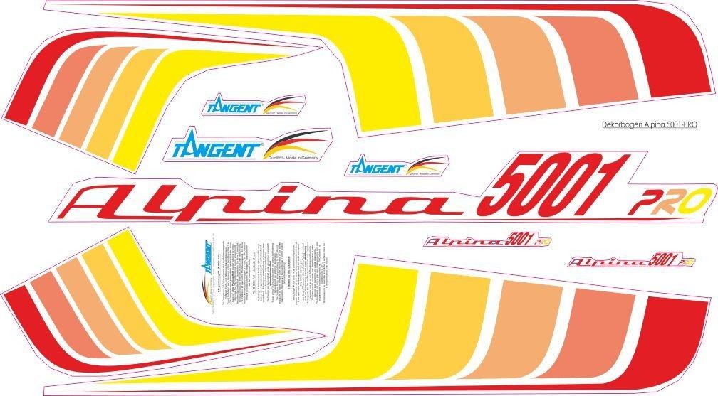 Dekorbogen Alpina 5001 Segler