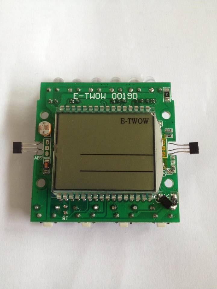 LCD Display für Eco Master und Booster universell