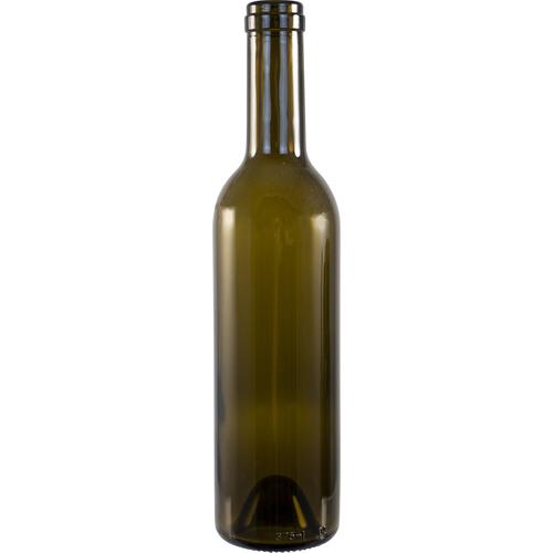 375 ml Antique Green Wine Bottles- Case of 12