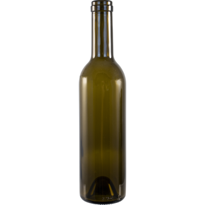 375 ml Antique Green Wine Bottles- Case of 12