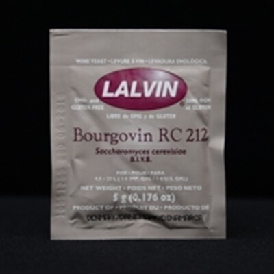 RC212 Wine Yeast- 5 gram