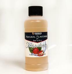 Strawberry Flavoring 4 oz.