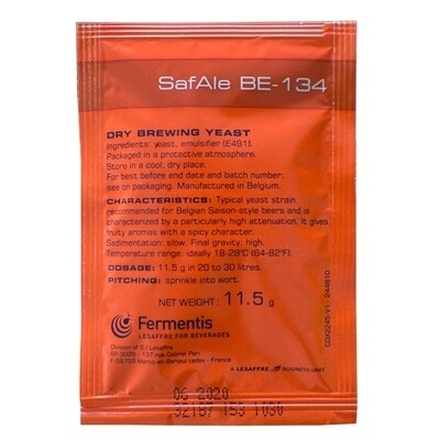 Safale BE-134 11.5 g