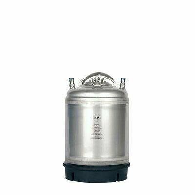 New 2.5 Gallon Ball Lock Keg- Single Handle