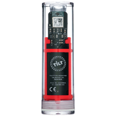 Tilt Hydrometer Red