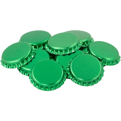 O2 Absorbing Green Crown Caps