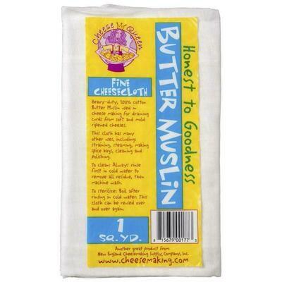 Butter Muslin - 2 Yards