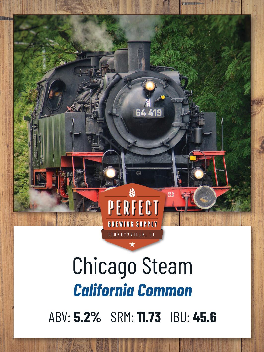 Chicago Steam - PBS Kit **ALL GRAIN**