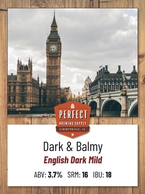 Dark and Balmy PBS Kit **ALL GRAIN**