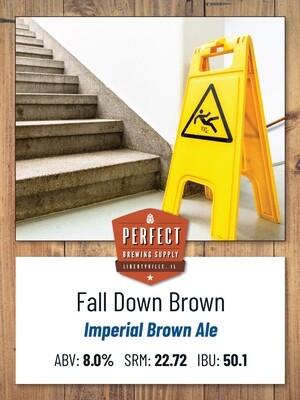 Fall Down Brown- PBS Kit **ALL GRAIN**