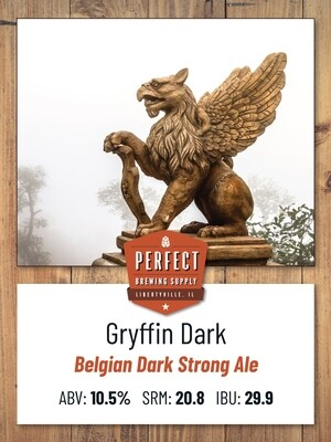Gryffin Dark Strong Ale- PBS Kit **ALL GRAIN**