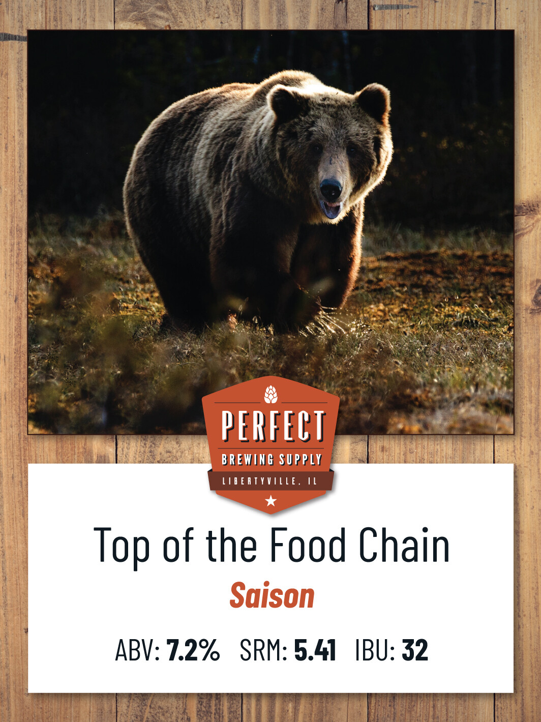 Top of the Food Chain-PBS Kit **ALL GRAIN**